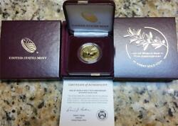 End Of World War Ll 75th Anniversary 24 Karat Gold Coin With All Mint Pck And Coa