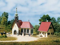 N Scale Buildings - 14461 - Village Church With Vicarage - Kit