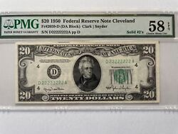 1950 20 Frn Cleveland Pmg 58 Solid 2