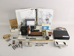 Otto Frei Micro Lathe Ii Model 4500 Tested Working W/mill Atachment And More