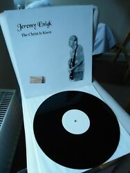 Jeremy Enigk The Christ Is Risen Vinyl Record, Sunny Day Real Estate, Fire Theft