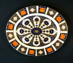 Stunning Royal Crown Derby Old Imari 1128 1st Quality Oval Platter Xxix