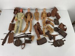 Vintage Johnny West And Others By Louis Marx Figures Parts And Accessories Lot