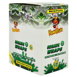 Honeypuff King Size Cigar Rolling Papers Vanilla Flavored Organic Full Box