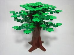Custom tree for LEGO with bright green plant plates new parts FREE shipping