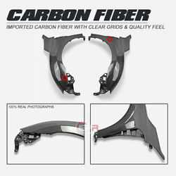 For Honda Civic Fk8 Tyr Epa Style Carbon Glossy Front Fender Mudguards Body Kits