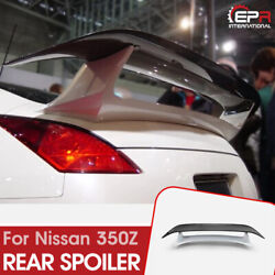 For Nissan Fairlady Z 350z Z33 Hz33 Esp Style Carbon And Frp Rear Spoiler Wing