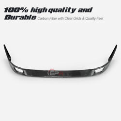 For 93-98 Toyota Supra Mk4 Jza80 Tr-style Carbon Glossy Front Bumper Lip Kit