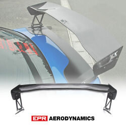 For Toyota Subaru Gt86 Brz 7pcs Vol Type-2v Style Carbon Gt Spoiler Wing 1350mm