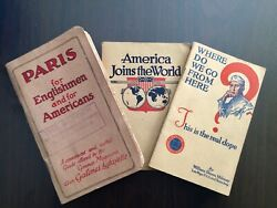Wwi Paris For Englishmen And Americans, Woodrow Wilson, Where Do We Go From Hear