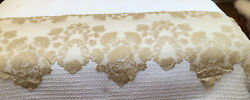 """Lace Mantel Scarf, 94"""" X 21"""" At Centervictorian, Cottage, Shabby Chic Lookgold"""