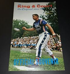 The King And His Court Game Program Eddie Feigner