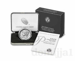 Reduced American Eagle 2020 One Ounce Palladium Uncirculated Coin Dk