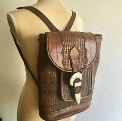 Groovy 1970s Back Pack Backpack Gammon Shire Wage Sterling Buckle Excellent