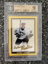 2005-06 Sidney Crosby Rookie Beehive 10 Grade Extremely Rare. Three 10 Subs