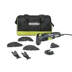 Rockwell-rk5132k Sonicrafter 32-piece Corded 3.5 Amp Oscillating Tool Kit