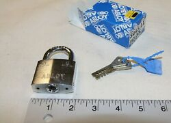 Abloy 3045 Model Padlock W/ 2 Working Keys - Made In Finland - New