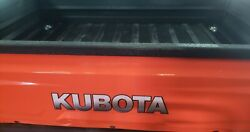 Kubota Rtv Bed X900 1100 1120 Complete Bed Box Rear Cargo Bed Gate Side Panel