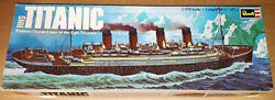 Vintage 1974 Revell R.m.s Titanic 1/570 Ship Model Kit New Old Toy Storestock