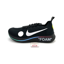 Nike Zoom Fly Mercurial Off-white Black Ao2115-001 2018 Menand039s Size 6-12 Shoes