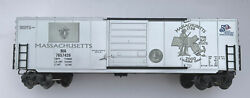 O Scale K Line K765-7426 Massachusetts Commemorative Classic Boxcar Bank Quoter