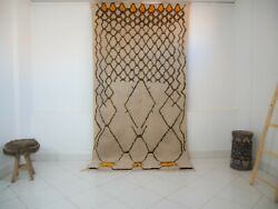 Azilal Rug Rare Authentic Beni Ourain , High Quality 100 Wool