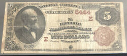 1882-5bb-the Freedom Nb-pa-in F Condition W/fraying,minor Tear On Edges-s/n5432