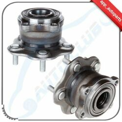 Pair Of 2 New Complete Wheel Hub And Bearing Assembly For 370z Ex35 Fx35 Fx50 G25