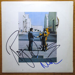 Roger Waters And Nick Mason Signed Pink Floyd 'wish You Were Here' Vinyl Album Jsa