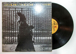 Southern Man Neil Young Signed And039after The Gold Rushand039 Album Vintage Vinyl Jsa