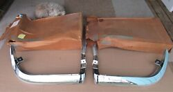 N.o.s. Gm 1963 - 1967 Corvette Pair Of Front Bumpers - Lh 3797337, Rh 3797338