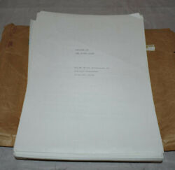 Soldier On The Other Side First Draft Patrick Alexander Laya Raki Owned Script