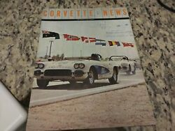 1963 Original 2nd Edition Corvette Owners Manual With Full News Card