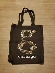 Official Garbage Band Shirley Manson Animal Bones Small Tote Bag Earth Friendly $18.00