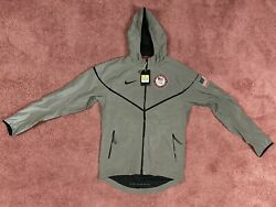 Men's Nike Usa Olympic Windrunner 3m Flash Jacket 488442 071 Small Nwt