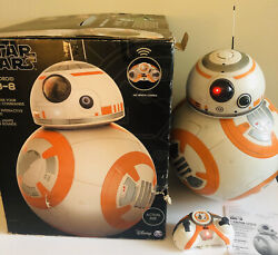 Star Wars Bb-8 Fully Interactive Hero Droid W/ Remote + Charger - Tested