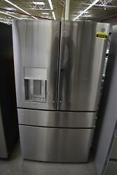 Ge Profile Pvd28bynfs 36 Stainless Steel French Door Refrigerator 107415