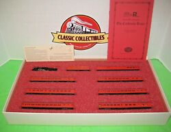 Con-cor N Scale New York Central The Cardinal's Train Limited Edition Set 8503