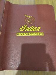 1955 Indian Lance Motorcycles Factory Service Manual