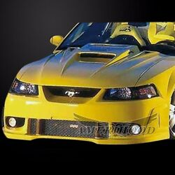 1999-2004 Ford Mustang Type-5 Style Functional Heat Extraction Hood By Amerihood