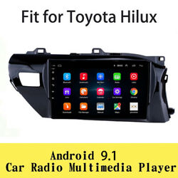 Android 9.1 Stereo Radio Touch Screen Gps Navigation 2g+32g Fit For Toyota Hilux