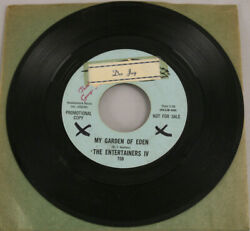 Northern Soul Entertainers Iv Garden Of Eden / Gettin Back Promo 7 Dore Records
