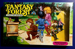 Vintage Fantasy Forest Board Game W/ Character Figures By Tsr Dandd 1990 Nib