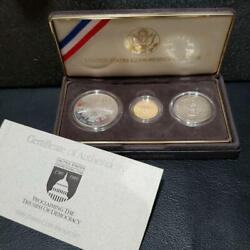 United States Congressional Coins W/certificate 1989 Free Shipping Fr Jp 9694n