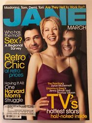 Jane Magazine March 1998 Issue 4 Dylan Mcdermott, Dharma And Greg