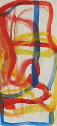 Unsigned Mid Century Abstraction Attributed Willem De Kooning