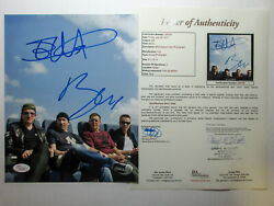 Bono And Edge Signed U2 All That You Can't Leave Behind 8x10 Photo Exact Proof Jsa