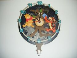 Pooh And Friends Animated Musical Wall Clock As-is