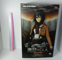 3-7 Days Rah Real Action Heroes 1/6 Action Figure Attack On Titan Mikasa