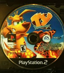 Playstation 2 Ty The Tasmanian Tiger Disc Only 2005 Tested See Photos Ps2